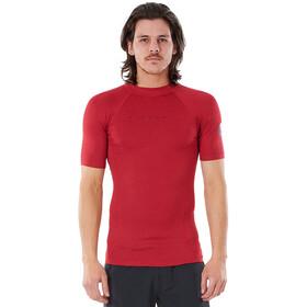 Rip Curl Down Patrol SS UV Shirt Men red marle